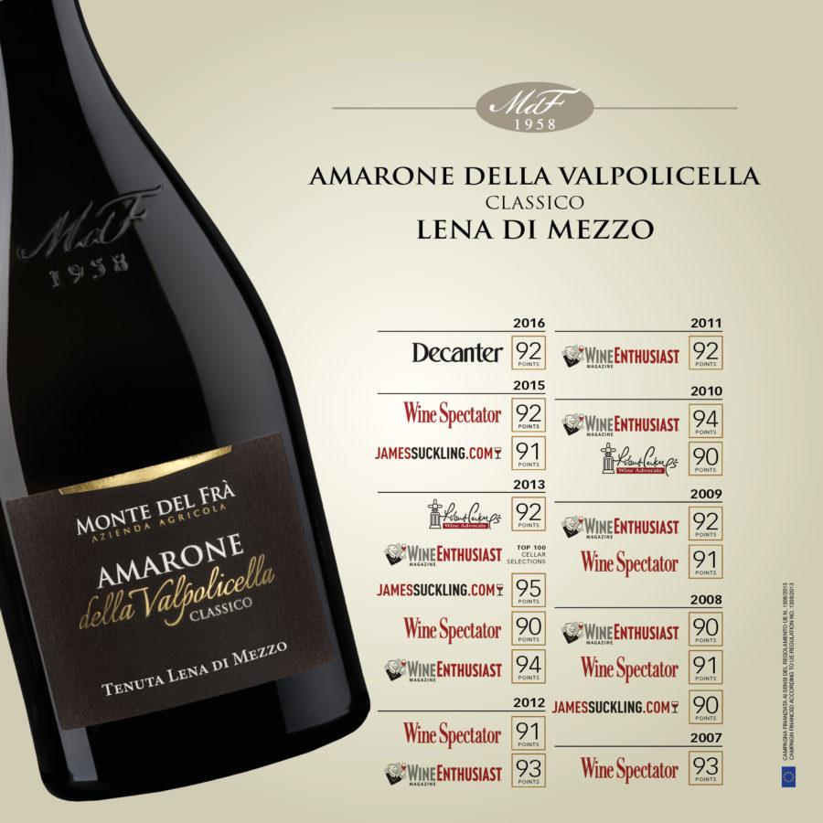 Amarone Classico Lena: premio