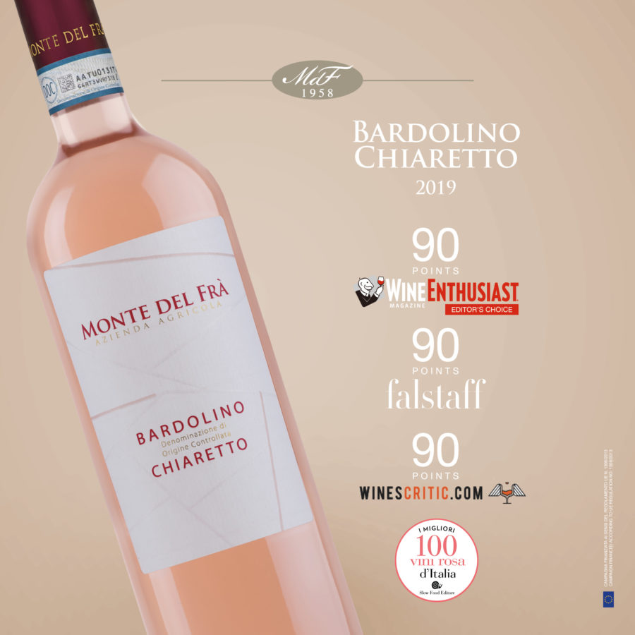 bardolino chiaretto doc: premi vino