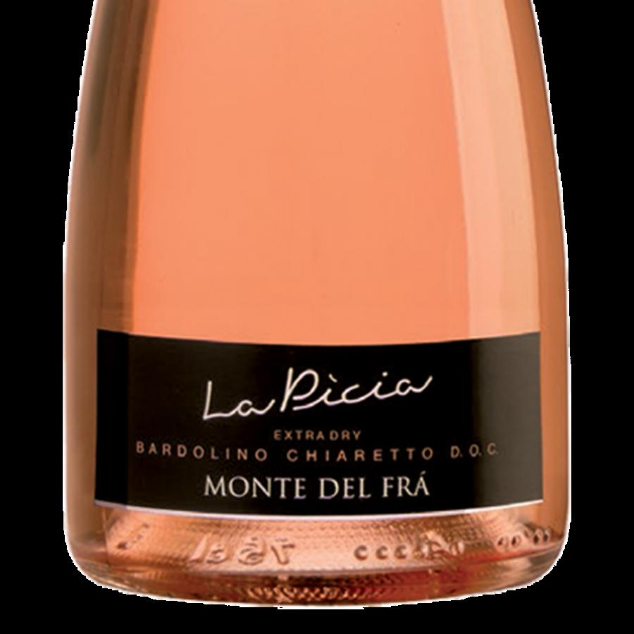 vino spumante rosè: etichetta